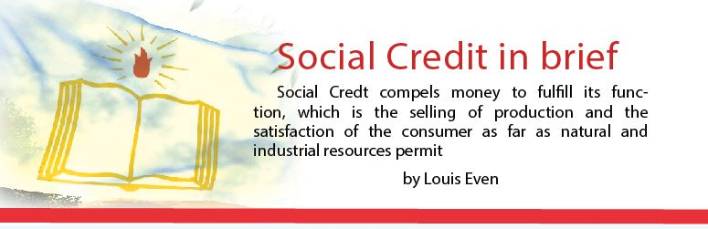 Social credit in brief