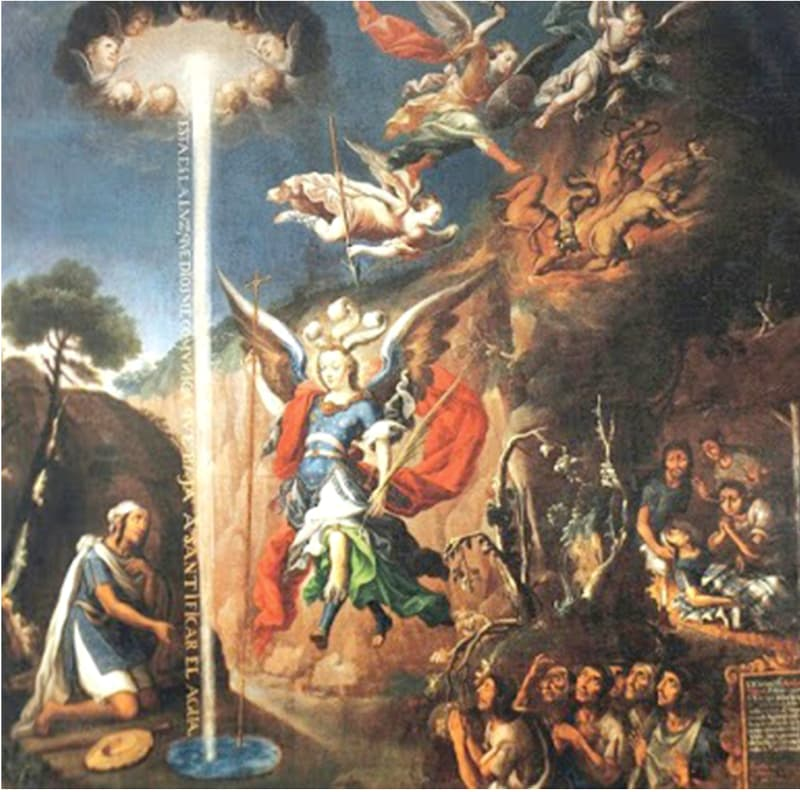 Apparition of St. Michael the Archangel to Diego Lázaro